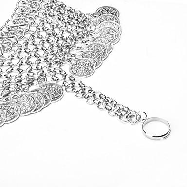 Kadın Ayak bileziği/Bilezikler alaşım Arkadaşlık Moda Bohemia Stili Avrupa Düğme Mücevher Uyumluluk Parti Günlük