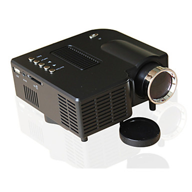 UNIC LCD LED Proiector 500 lm A sustine 1080 (1920 x1080) 10-100 inch / 4:3 și 16:9  / QVGA (320x240) / ±15°