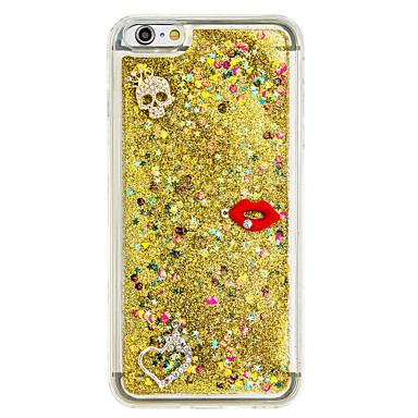Varten Virtaava neste DIY Etui Takakuori Etui Kiiltävä Pehmeä TPU varten AppleiPhone 7 Plus iPhone 7 iPhone 6s Plus/6 Plus iPhone 6s/6