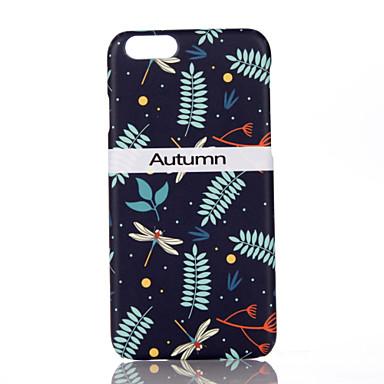 Na Ultra cienkie Wzór Kılıf Etui na tył Kılıf Kwiat Twarde PC na Apple iPhone 7 Plus iPhone 7 iPhone 6s Plus/6 Plus iPhone 6s/6