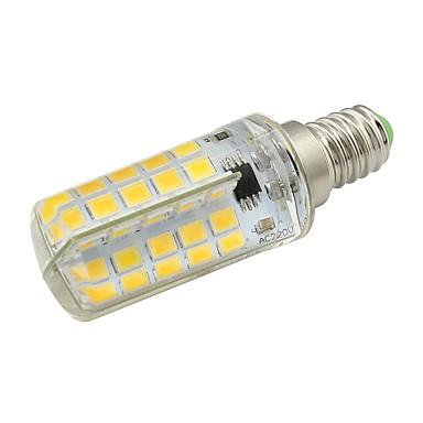 5W 420lm E14 LED Mısır Işıklar T 80 LED Boncuklar SMD 5730 Dekorotif Sıcak Beyaz Serin Beyaz 220-240V