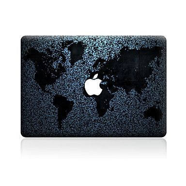 1 szt. Naklejka na obudowę na Odporne na zadrapania Mapa Wzorki PVC MacBook Pro 15'' with Retina MacBook Pro 15'' MacBook Pro 13'' with