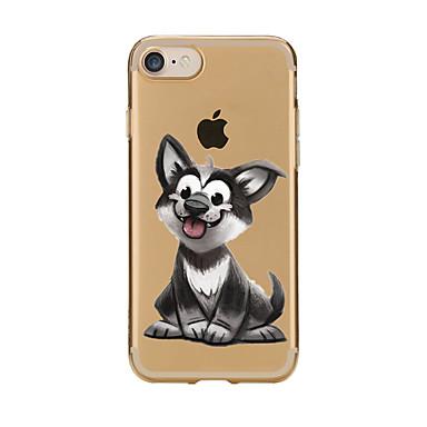 Na Przezroczyste Wzór Kılıf Etui na tył Kılıf Pies Miękkie TPU na AppleiPhone 7 Plus iPhone 7 iPhone 6s Plus/6 Plus iPhone 6s/6 iPhone