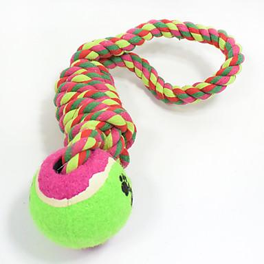 Jucării de Dentiție pt Pisici Jucării de Dentiție pt Căței Funie Elastic Durabil Halloween Țesut Nobbly Wobbly Minge tenis Amprentă