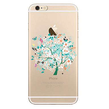 Kılıf Na Apple iPhone X iPhone 8 Plus Przezroczyste Wzór Etui na tył Drzewo Miękkie TPU na iPhone X iPhone 8 Plus iPhone 8 iPhone 7 Plus