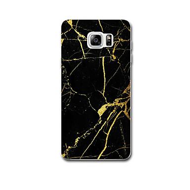 Για Εξαιρετικά λεπτή Με σχέδια tok Πίσω Κάλυμμα tok Μάρμαρο Μαλακή TPU για Samsung Note 5 Note 4