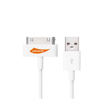 USB 2.0 Καλώδιο Καλώδιο φόρτισης Καλώδιο φορτιστή Δεδομένα και συγχρονισμός Κανονικό Καλώδια Για iPad Apple iPhone 100