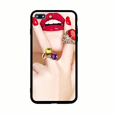 Için Temalı Pouzdro Arka Kılıf Pouzdro Seksi Kadın Sert Akrilik için AppleiPhone 7 Plus iPhone 7 iPhone 6s Plus iPhone 6 Plus iPhone 6s