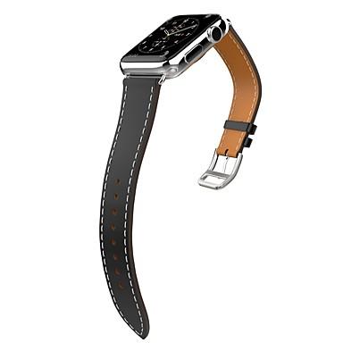 Watch Band na Apple Watch Series 3 / 2 / 1 Apple Klasyczna klamra Skóra naturalna Opaska na nadgarstek