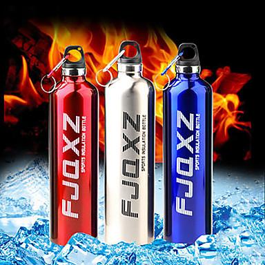 Αθλητικά Ποτήρια, 750 ml Διατήρηση θερμότητας Φορητό Υδατοστεγές Ανοξείδωτο ατσάλι Τσάι Δερματί Μπουκάλια Νερού