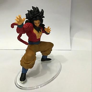 Rysunki Anime akcji Zainspirowany przez Dragon Ball Goku PVC 15 CM Klocki Lalka Zabawka