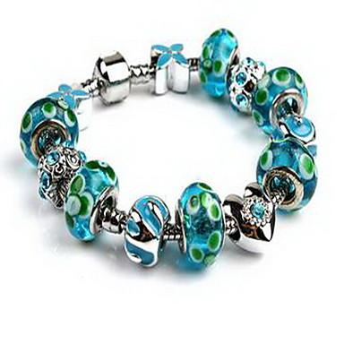 Bransoletki i łańcuszki na rękę Natura Kryształ Stop Inne Serce Biżuteria Impreza Urodziny