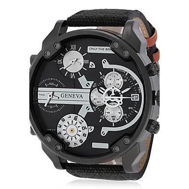 c5202cbbc رخيصةأون ساعات الرجال-رجالي ساعة عسكرية كوارتز أسود / أحمر / أخضر عرض ساخن  كوول