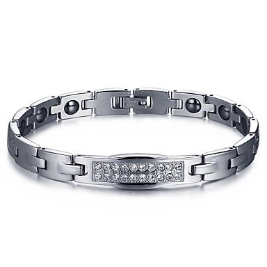 Bransoletki i łańcuszki na rękę biżuteria kostiumowa Terapia magnetyczna Modny Stal tytanowa Biżuteria Biżuteria Na
