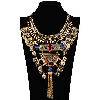 Açıklama Kolye Geometric Shape alaşım Euramerican Altın Mücevher Için Düğün Parti Doğumgünü Günlük 1pc