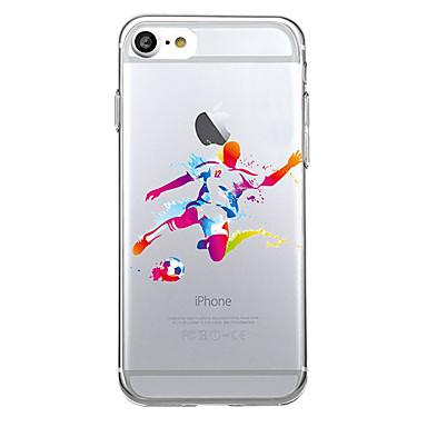 tok Για Apple Εξαιρετικά λεπτή Διαφανής Πίσω Κάλυμμα Κινούμενα σχέδια Μαλακή TPU για iPhone 7 Plus iPhone 7 iPhone 6s Plus iPhone 6s
