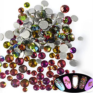 500-600pcs/bag Biżuteria do paznokci Glitter i Poudre Inne dekoracje Błyskotki Modny Słodkie Połyskujące Ślub Wysoka jakość Codzienny