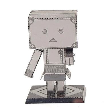 Zabawki 3D Puzzle Metalowe puzzle Model Bina Kitleri DIY Robot 3D Dla dzieci Prezent