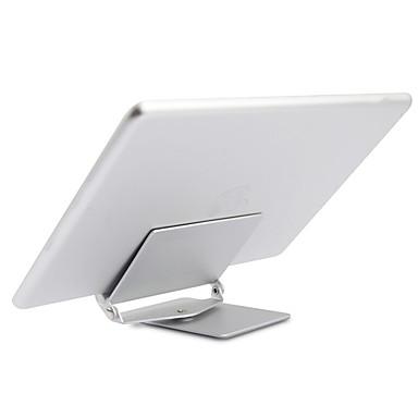 tablet standı Metal Danışma Masa tablet tutucu Esnek ayarlanabilir Taşınabilir 360 Döner Katlama Gümüş