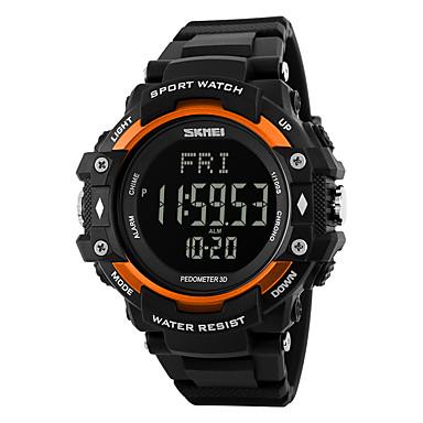 Αντρικά Γυναικεία Αθλητικό Ρολόι Ρολόι Καρπού Ψηφιακό ρολόι ΨηφιακόLCD Ημερολόγιο Ανθεκτικό στο Νερό συναγερμού Συσκευή Παρακολούθησης