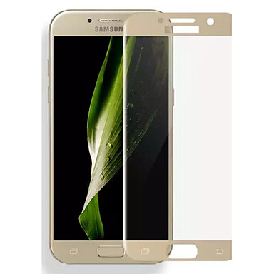 asling Samsung calaxy a7 (2017) 0.2mm 3d kaari reunan koko kansi karkaistua lasia suojakalvo näytön suojus
