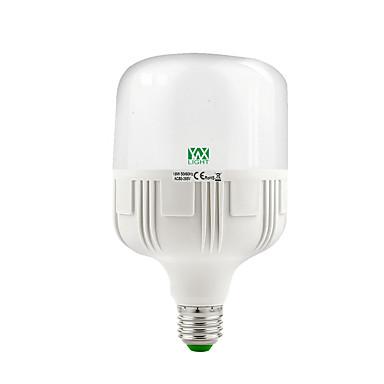 1PC 18W 1600-1750 lm E26/E27 مصابيح كروية LED 38 الأضواء SMD 2835 ديكور أبيض دافئ أبيض كول 2800-3200/6000-6500 ك AC 85-265 V