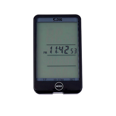 ركوب الدراجات دراجة جبلية كومبيوتر الدراجةAV - معدل السرعة ODO - عداد المسافات SPD - السرعة الحالية عداد المسافات الخلفية TME - الوقت