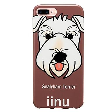 Για IMD Με σχέδια tok Πίσω Κάλυμμα tok Σκύλος Μαλακή TPU για Apple iPhone 7 Plus iPhone 7 iPhone 6s Plus/6 Plus iPhone 6s/6