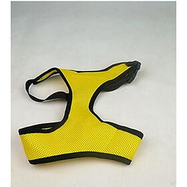 Σκύλος Παλτά Ρούχα για σκύλους Χαριτωμένο Καθημερινά Κινούμενα σχέδια Μαύρο Σκούρο μπλε Κίτρινο Πράσινο Ροζ Στολές Για κατοικίδια