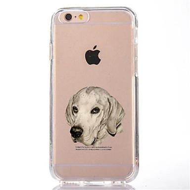 Varten Läpinäkyvä Kuvio Etui Takakuori Etui Koira Pehmeä TPU varten AppleiPhone 7 Plus iPhone 7 iPhone 6s Plus iPhone 6 Plus iPhone 6s