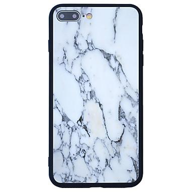 Etui Käyttötarkoitus Apple Kuvio Takakuori Marble Kova Akryyli varten iPhone 7 Plus iPhone 7 iPhone 6s Plus iPhone 6s iPhone SE/5s
