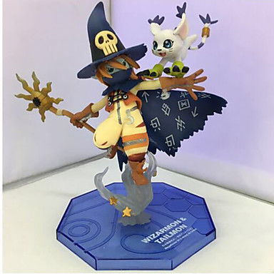 Anime Toimintahahmot Innoittamana Digitaalinen Monster / Digimons Cosplay 14 CM Malli lelut Doll Toy