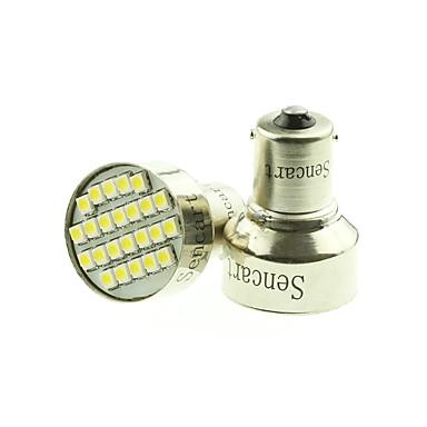 SENCART 1156 Araba Ampul 3W SMD 3528 240lm LED Dönüş Sinyali Işığı For Uniwersalny