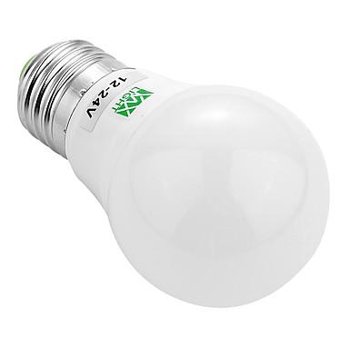 YWXLIGHT® 1pc 3 W 200-300 lm E26/E27 LED Λάμπες Σφαίρα 6 leds SMD 5730 Διακοσμητικό Θερμό Λευκό Ψυχρό Λευκό AC 12V DC 12-24V