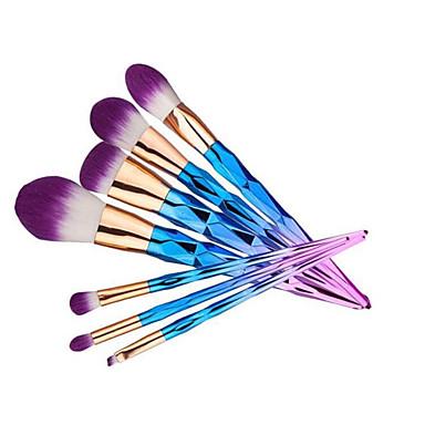 Contour Brush Perie Fond Perie Pudră Perie Corector Perie  Fard Perie Blush Seturi perie Păr sintetic Portabil Călătorie Ecologic