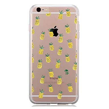 Kılıf Na Apple iPhone 7 Plus iPhone 7 Wzór Czarne etui Owoc Miękkie TPU na iPhone 7 Plus iPhone 7 iPhone 6s Plus iPhone 6s iPhone 6 Plus
