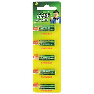 Shuanglu 27a 12v bateria alkaliczna 5 sztuk