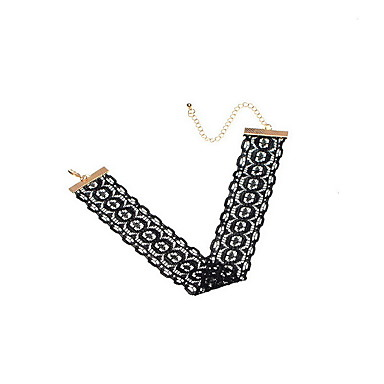 Kadın Gerdanlıklar Mücevher Geometric Shape Mücevher Dantel Moda Kişiselleştirilmiş Euramerican minimalist tarzı Avrupa Mücevher Uyumluluk
