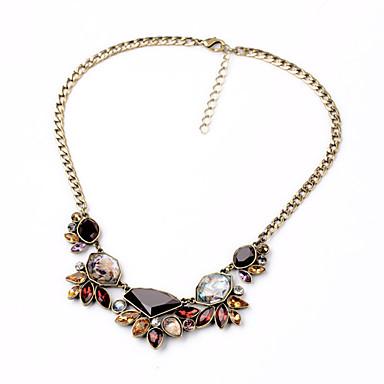 Damskie Pasemka Naszyjniki Geometric Shape Unikalny biżuteria kostiumowa euroamerykańskiej Biżuteria Na Impreza Specjalne okazje Urodziny