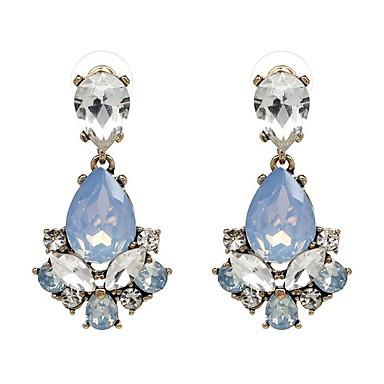 Damskie Kolczyki na sztyft Kryształ Modny euroamerykańskiej minimalistyczny styl Biżuteria Na Ślub Impreza Urodziny