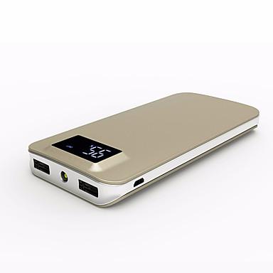 Bank zewnętrznego zasilania baterii 5V #A Ładowarka Latarka Wiele wyjść QC 2.0 QC 3.0 Bardzo cienki/a LCD