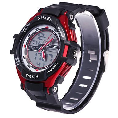 Bărbați Ceas Sport Ceas Elegant Ceas La Modă Ceas de Mână Ceas digital Piloane de Menținut Carnea Mare Dial Silicon Bandă Charm Multicolor