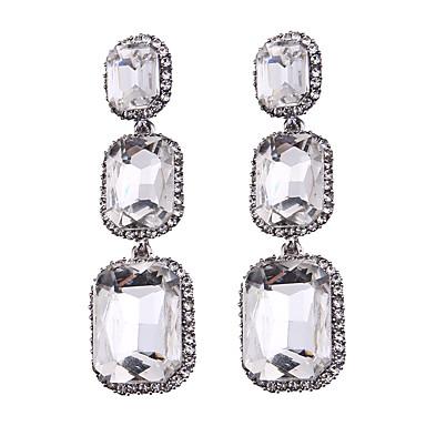 Kadın's Vidali Küpeler Mücevher Moda Bohemia Stili Euramerican Sentetik Taşlar Mücevher Mücevher Uyumluluk Düğün Parti Özel Anlar