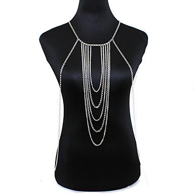 نساء مجوهرات الجسم  سلسلة الجسم / سلسلة البطن موضة عتيقة نمط بوهيميا سبيكة مجوهرات من أجل مناسبة خاصة فضفاض
