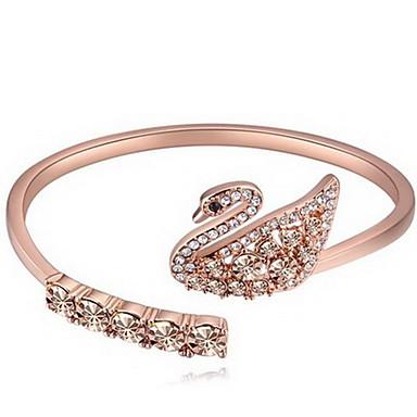 Kadın's Halhallar Mücevher Arkadaşlık Moda Kristal alaşım Geometric Shape Mücevher Uyumluluk Doğumgünü