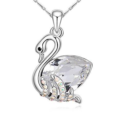 Kadın's Uçlu Kolyeler Kristal Animal Shape Çok güzel Mücevher Uyumluluk Doğumgünü
