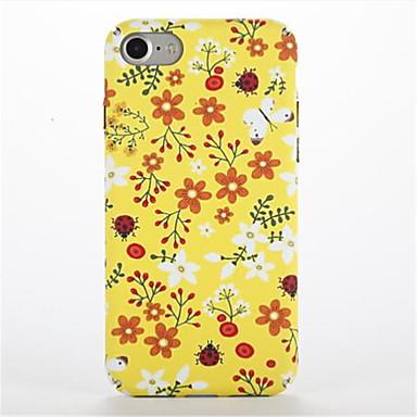 Için Temalı Pouzdro Arka Kılıf Pouzdro Çiçek Sert PC için Apple iPhone 7 Plus iPhone 7 iPhone 6s Plus iPhone 6 Plus iPhone 6s iphone 6