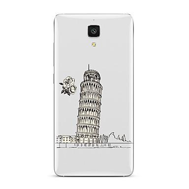 Για Διαφανής Με σχέδια tok Πίσω Κάλυμμα tok Θέα της πόλης Μαλακή TPU για XiaomiXiaomi Mi 5 Xiaomi Mi 4 Xiaomi Mi 5s Xiaomi Mi 5s Plus