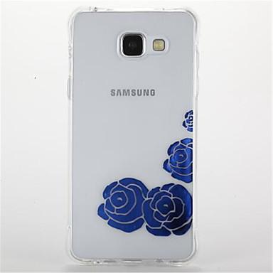 Etui Käyttötarkoitus Samsung Galaxy A5(2016) A3(2016) Iskunkestävä Pinnoitus Kuvio Takakuori Kukka Pehmeä TPU varten A5(2016) A3(2016)