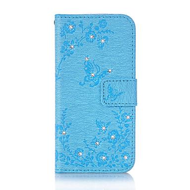 tok Για Samsung Galaxy A5(2016) A3(2016) Θήκη καρτών Πορτοφόλι Στρας με βάση στήριξης Ανοιγόμενη Μαγνητική Με σχέδια Ανάγλυφη Πλήρης Θήκη